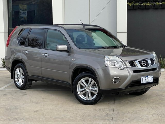 Used Nissan X-Trail T31 Series IV ST-L 2WD Templestowe, 2011 Nissan X-Trail T31 Series IV ST-L 2WD Grey 1 Speed Constant Variable Wagon