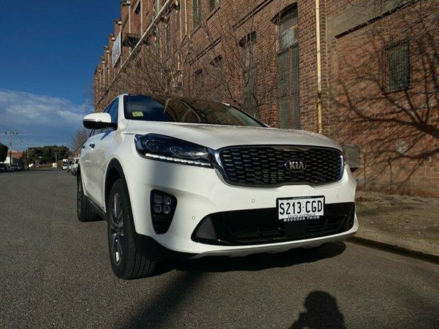 Demo Kia Sorento UM MY20 GT-Line AWD Cheltenham, 2019 Kia Sorento UM MY20 GT-Line AWD Clear White 8 Speed Sports Automatic Wagon