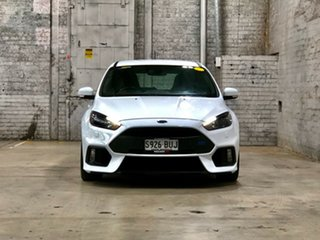 2017 Ford Focus LZ RS AWD White 6 Speed Manual Hatchback.