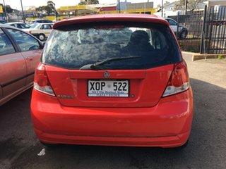 2007 Holden Barina TK MY07 Red 5 Speed Manual Hatchback