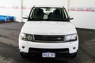 2011 Land Rover Range Rover MY11 Sport 3.0 TDV6 Luxury White 6 Speed Automatic Wagon.