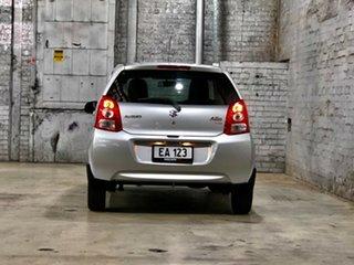 2011 Suzuki Alto GF GLX Silver 4 Speed Automatic Hatchback