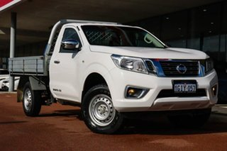 2017 Nissan Navara D23 S2 RX White 7 Speed Sports Automatic Cab Chassis.