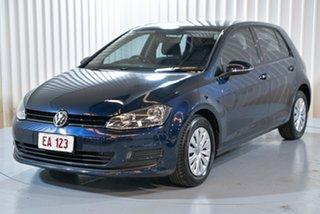 2013 Volkswagen Golf VII 90TSI DSG Blue 7 Speed Sports Automatic Dual Clutch Hatchback.