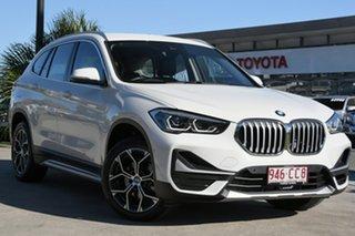 2020 BMW X1 F48 LCI sDrive18i D-CT White 7 Speed Sports Automatic Dual Clutch Wagon.