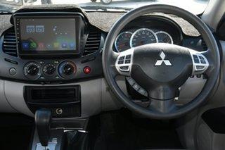 2015 Mitsubishi Triton MN MY15 GLX Double Cab White 4 Speed Sports Automatic Utility