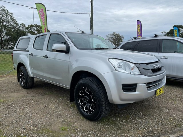 Used Isuzu D-MAX MY15 SX 4x2 High Ride Glendale, 2014 Isuzu D-MAX MY15 SX 4x2 High Ride Silver 5 Speed Sports Automatic Cab Chassis