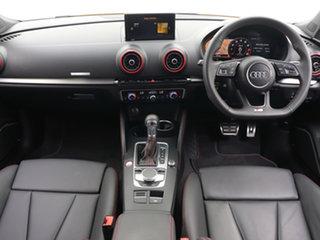 2019 Audi S3 8V MY19 2.0 TFSI Quattro Yellow 7 Speed Auto S-Tronic Hatchback