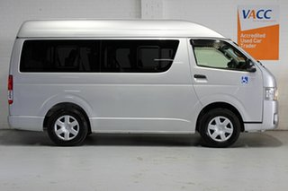 2015 Toyota HiAce TRH200  High Roof  Silver 6 Speed Automatic Bus.