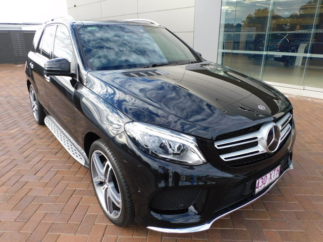 Used Mercedes-Benz GLE-Class W166 807MY GLE350 d 9G-Tronic 4MATIC Toowoomba, 2017 Mercedes-Benz GLE-Class W166 807MY GLE350 d 9G-Tronic 4MATIC Black 9 Speed Sports Automatic