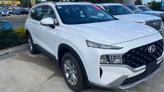 2020 Hyundai Santa Fe Tm.v3 MY21 DCT White Cream 8 Speed Sports Automatic Dual Clutch Wagon.