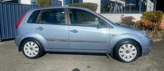 2007 Ford Fiesta WQ LX Blue 4 Speed Automatic Hatchback.