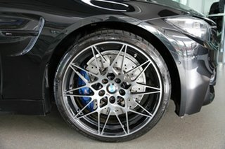 2018 BMW M4 F82 LCI Competition M-DCT Black 7 Speed Sports Automatic Dual Clutch Coupe