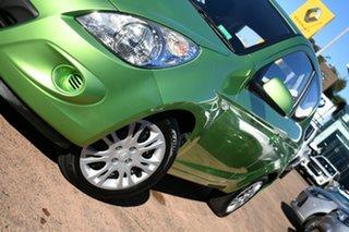 2011 Hyundai i20 PB MY11 Active Green 4 Speed Automatic Hatchback.