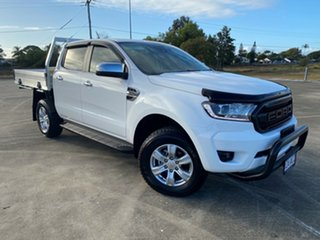 2020 Ford Ranger PX MkIII 2021.25MY XLT Double Cab Arctic White 10 Speed Sports Automatic.
