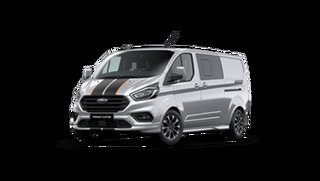 2021 Ford Transit VN Custom Sport 320S SWB Moondust Silver 6 Speed Automatic Van