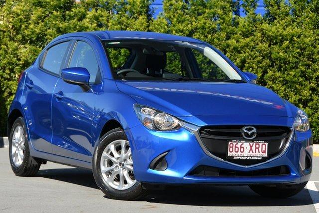 Used Mazda 2 DJ2HAA Maxx SKYACTIV-Drive Aspley, 2016 Mazda 2 DJ2HAA Maxx SKYACTIV-Drive Blue 6 Speed Sports Automatic Hatchback