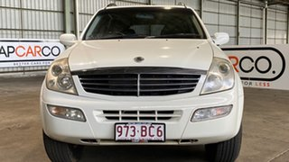 2005 Ssangyong Rexton Y220 Limited White 5 Speed Sports Automatic Wagon