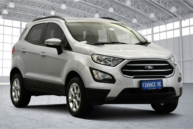 Used Ford Ecosport BL Trend Victoria Park, 2018 Ford Ecosport BL Trend Silver 6 Speed Automatic Wagon