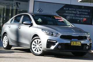 2020 Kia Cerato BD MY21 S Grey 6 Speed Sports Automatic Sedan.