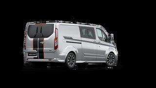 2021 Ford Transit VN Custom Sport 320S SWB Moondust Silver 6 Speed Automatic Van.
