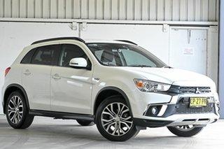 2018 Mitsubishi ASX XC MY18 LS 2WD ADAS White 1 Speed Constant Variable Wagon.