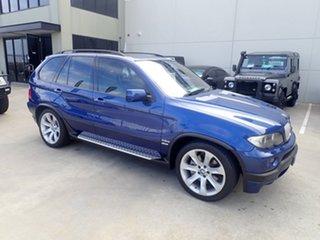 2004 BMW X5 E53 4.8IS Le Mans Blue 6 Speed Auto Steptronic Wagon