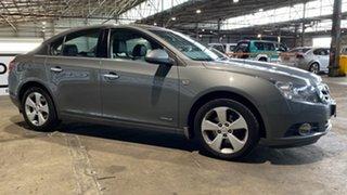 2010 Holden Cruze JG CDX Grey 5 Speed Manual Sedan.