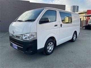 2006 Toyota HiAce KDH201R MY07 LWB White Van