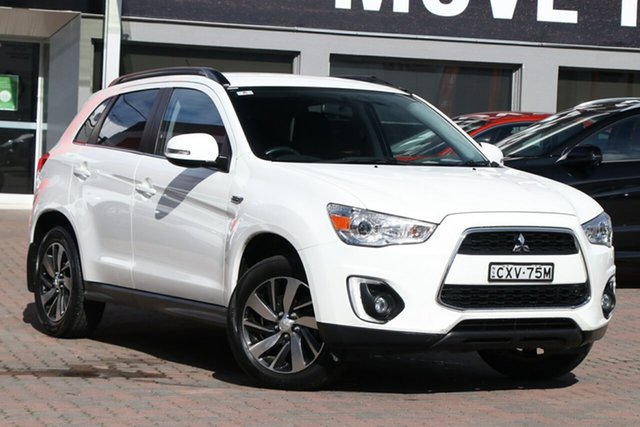 Used Mitsubishi ASX XB MY15 LS 2WD Parramatta, 2014 Mitsubishi ASX XB MY15 LS 2WD White 6 Speed Constant Variable Wagon