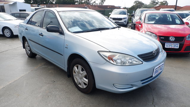 Used Toyota Camry ACV36R Altise St James, 2003 Toyota Camry ACV36R Altise Blue 4 Speed Automatic Sedan
