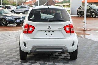2021 Suzuki Ignis MF Series II GLX Pure White 1 Speed Constant Variable Hatchback.