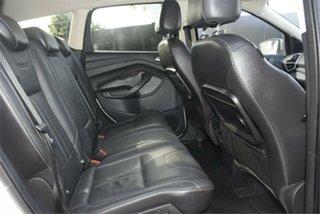 2014 Ford Kuga TF Titanium PwrShift AWD Silver 6 Speed Sports Automatic Dual Clutch Wagon