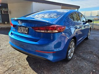 2017 Hyundai Elantra AD MY17 Elite Blue 6 Speed Sports Automatic Sedan.