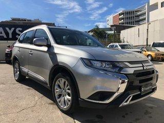 2019 Mitsubishi Outlander ES Silver Constant Variable Wagon.