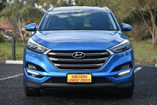 2016 Hyundai Tucson TLe MY17 Elite AWD Blue 6 Speed Sports Automatic Wagon.