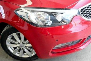 2015 Kia Cerato YD MY15 S Premium Red 6 Speed Sports Automatic Hatchback.