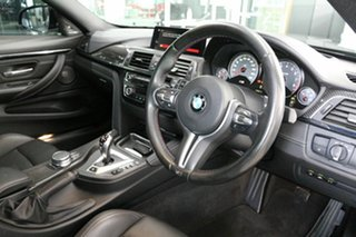 2018 BMW M4 F82 LCI Competition M-DCT Black 7 Speed Sports Automatic Dual Clutch Coupe.