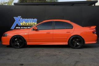 2004 Ford Falcon BA Mk II XR8 Orange 4 Speed Sports Automatic Sedan