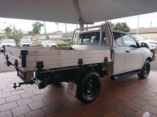 2018 Toyota Hilux GUN126R MY17 SR (4x4) Glacier White 6 Speed Manual X Cab Cab Chassis.