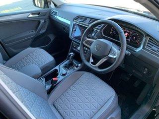 2021 Volkswagen Tiguan 5N MY21 132TSI Life DSG 4MOTION Black 7 Speed Sports Automatic Dual Clutch