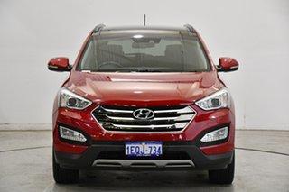2014 Hyundai Santa Fe DM2 MY15 Highlander Red Merlot 6 Speed Sports Automatic Wagon.