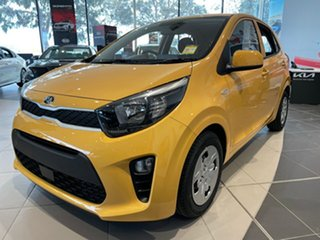 2021 Kia Picanto JA MY21 S Honey Bee Yellow 4 Speed Automatic Hatchback.