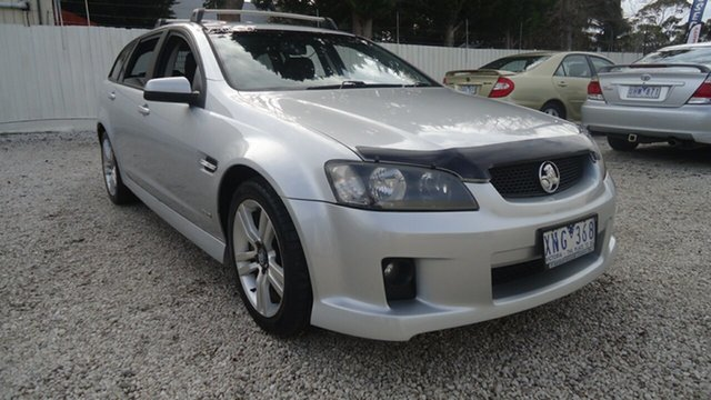 Used Holden Commodore VE MY10 SV6 Sportwagon Seaford, 2010 Holden Commodore VE MY10 SV6 Sportwagon Silver 6 Speed Sports Automatic Wagon