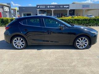 2018 Mazda 3 BN5436 SP25 SKYACTIV-MT Black/080718 6 Speed Manual Hatchback.