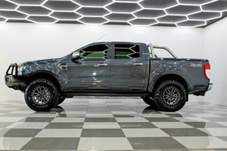 2017 Ford Ranger PX MkII MY17 Update XLT 3.2 (4x4) Grey 6 Speed Automatic Double Cab Pick Up