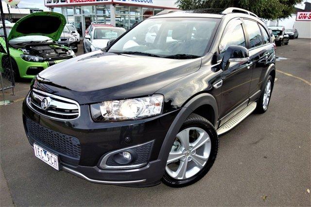 Used Holden Captiva CG MY15 7 AWD LTZ Seaford, 2014 Holden Captiva CG MY15 7 AWD LTZ Black 6 Speed Sports Automatic Wagon