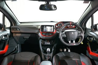 2013 Peugeot 208 A9 MY13 GTi White 6 Speed Manual Hatchback