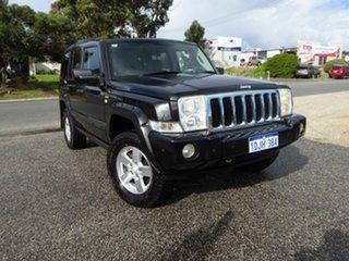 2008 Jeep Commander XH Black 5 Speed Automatic Wagon.