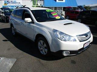2009 Subaru Outback White 5 Speed Manual Wagon